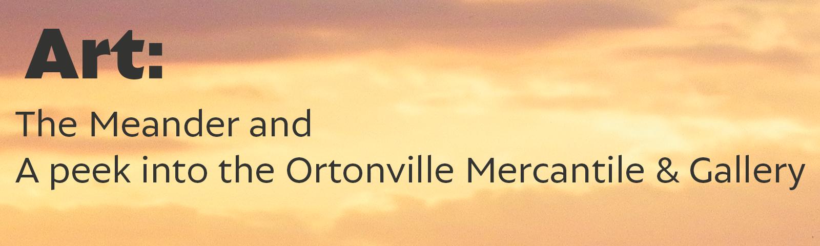 Art in Ortonville & Big Stone County