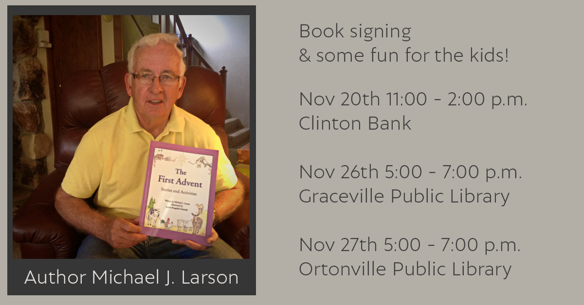 Local Author Visit at the Ortonville Library