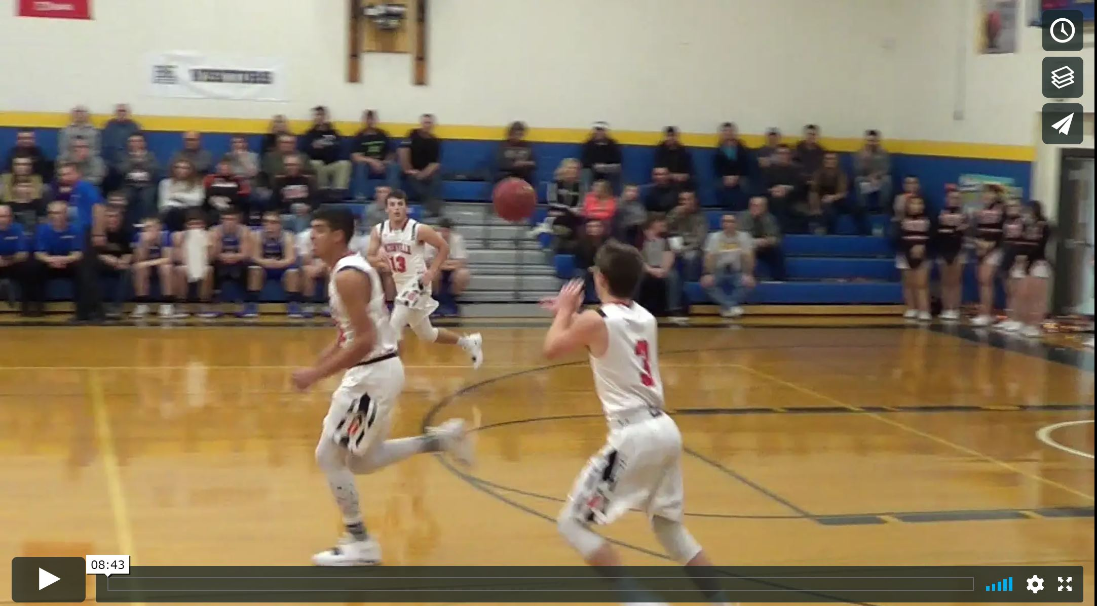 Video Highlights Boys Basketball vs Brandon-Evansville & Elementary Tournament
