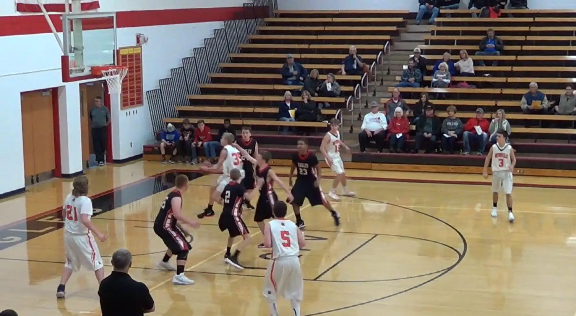 Boys Basketball Trojans vs LQPV