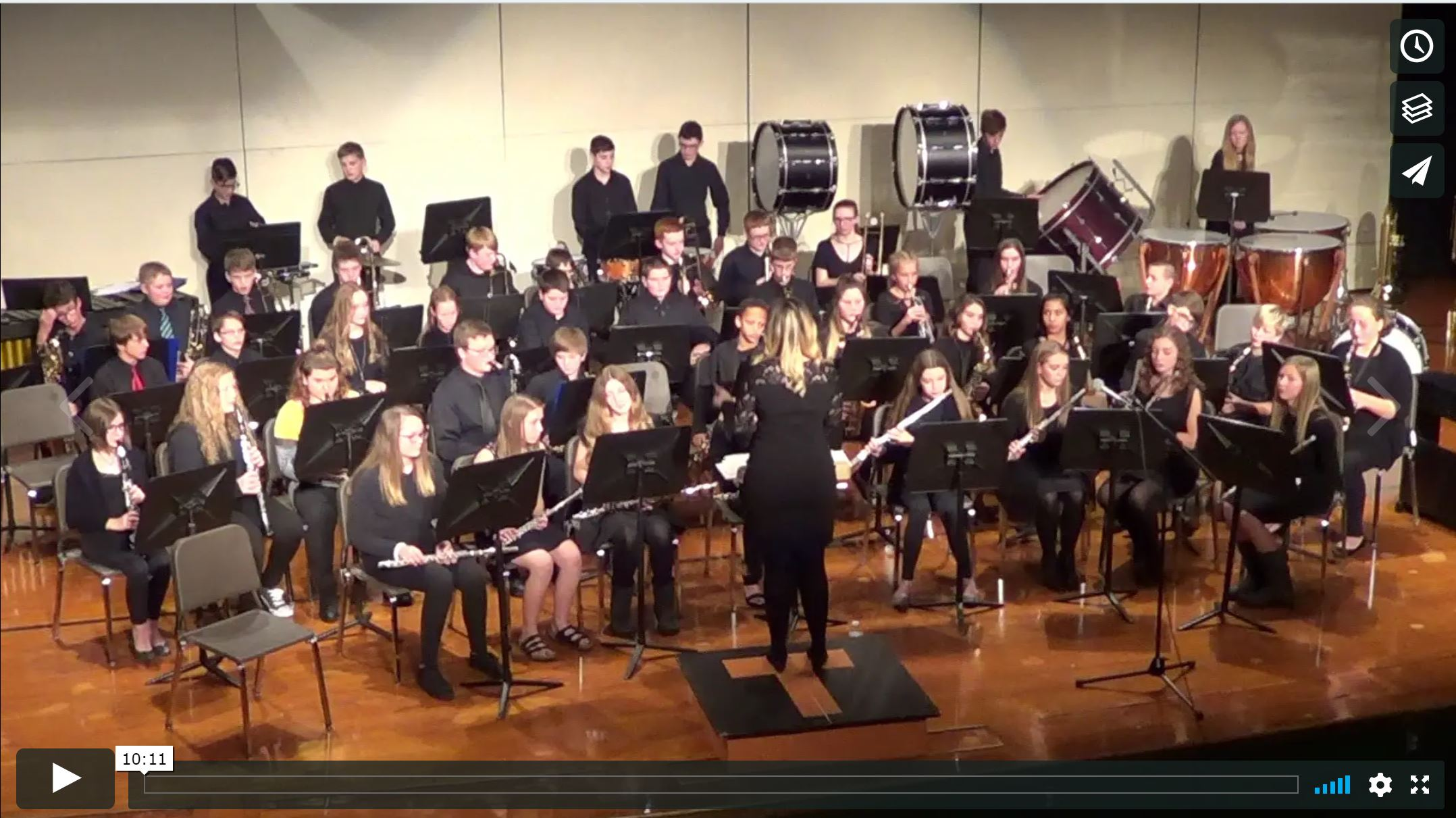 Ortonville School Winter Band Concert