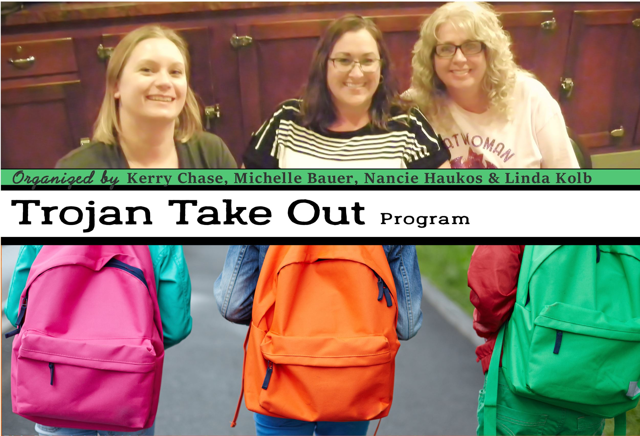 Trojan Takeout – Thank you for your Work!