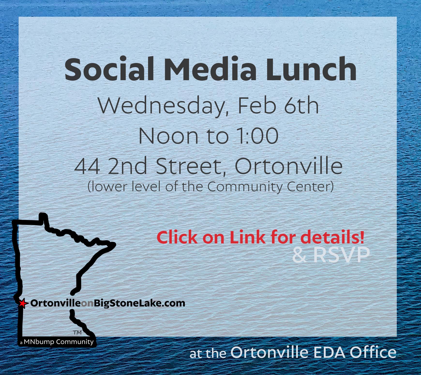 Social Media Lunch – February!
