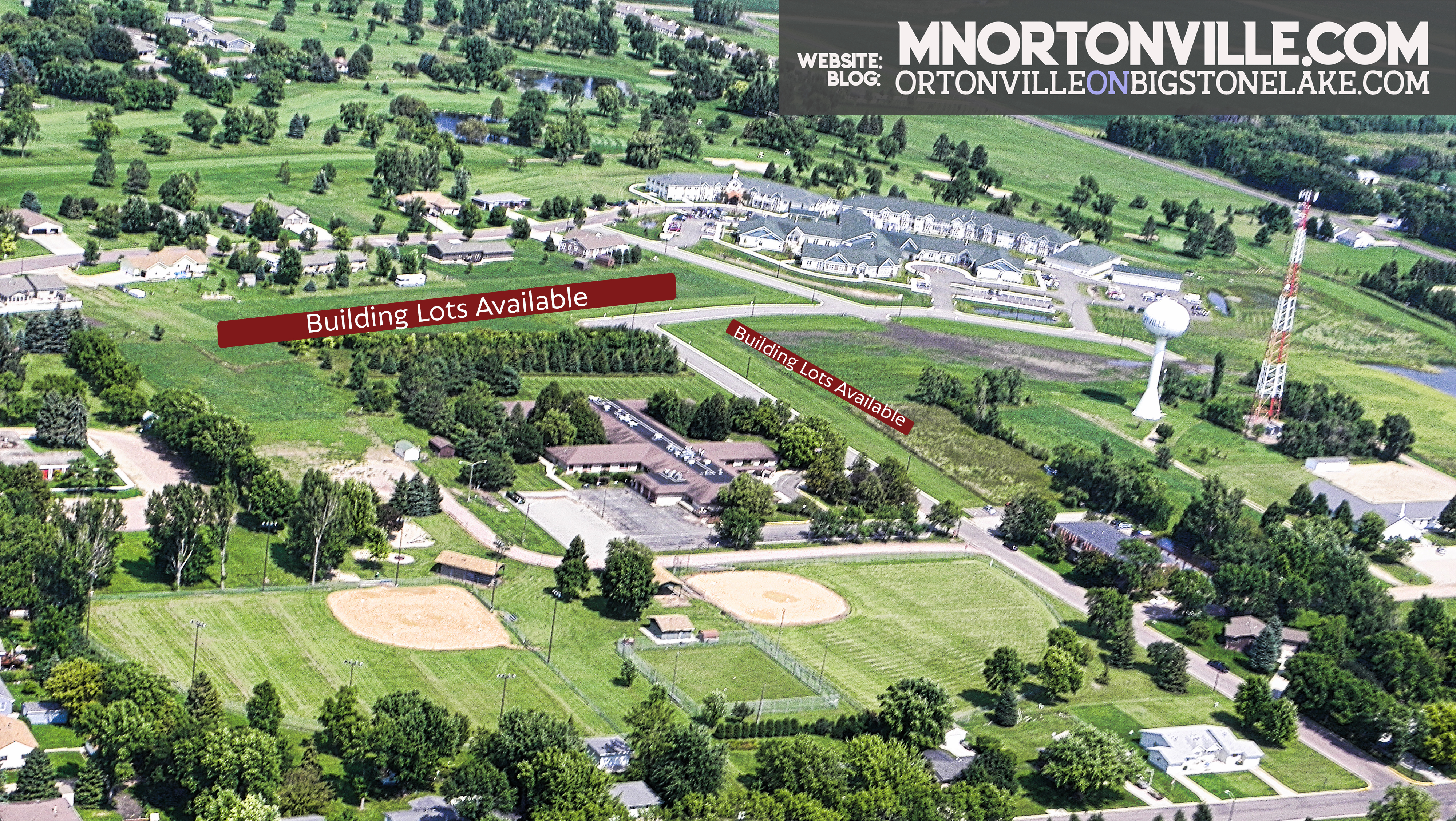 New Residential Lots Available in Ortonville