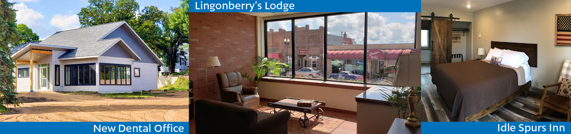 Lingonberry's Lodge Photos, Idle Spurs Inn Update, New Dentist sets date to open & More!