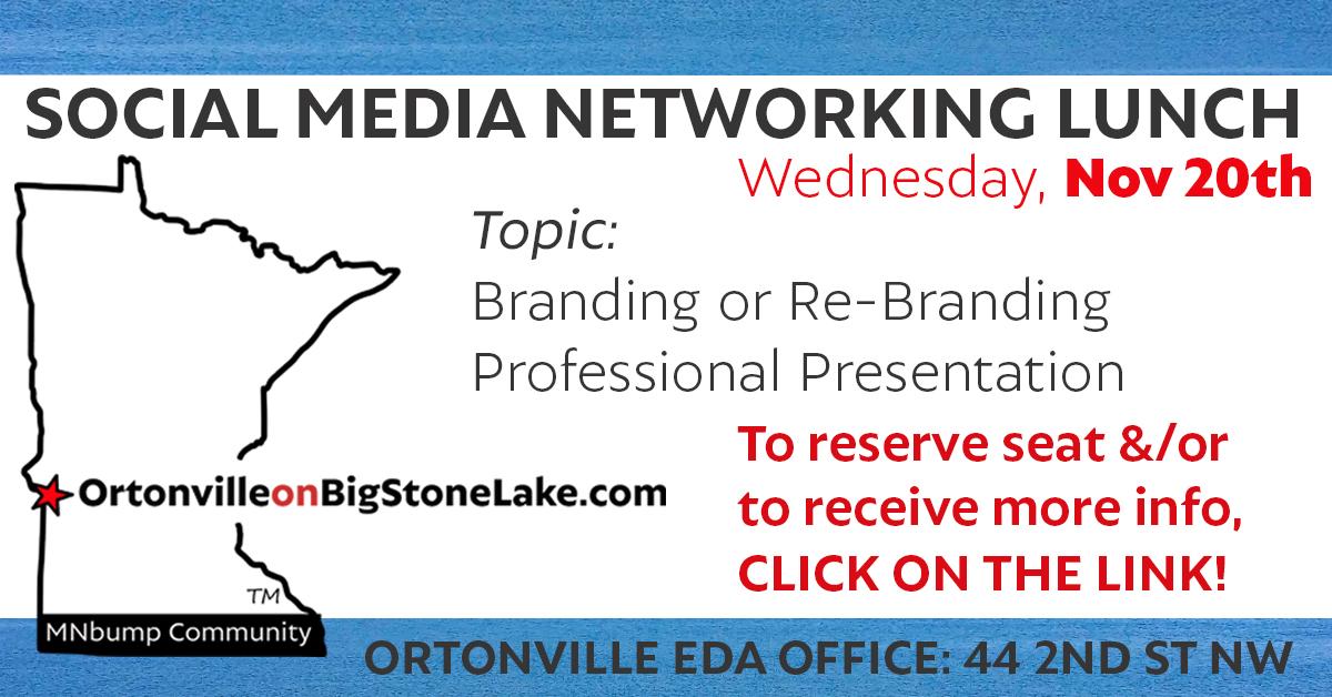 November Social Media Lunch – Branding